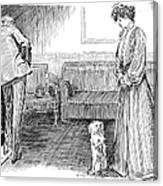 Gibson: Lifes Vaudeville Canvas Print
