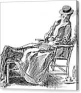 Gibson: Woman, 1898 Canvas Print