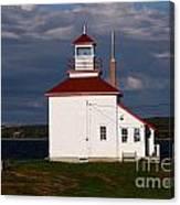 Gilbert Cove Lighthouse Canvas Print