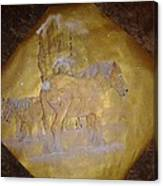 gilded Brabant Canvas Print