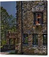 Gillette Castle Exterior Hdr Canvas Print