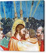 Giotto: Betrayal Of Christ Canvas Print