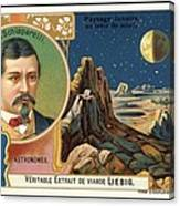 Giovanni Schiaparelli Lunar Advert Canvas Print