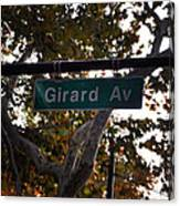 Girard Avenue In Philadelphia Canvas Print