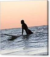 Trying To Catch A Wave Canvas Print