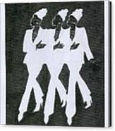 Girl Trio Canvas Print