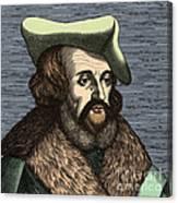 Girolamo Fracastoro, Italian Polymath Canvas Print