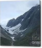 Glacier Bay Slopes Canvas Print