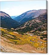 Glacier Cirque - Rocky Mountain National Park Canvas Print
