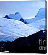 Glacier Cracks Canvas Print