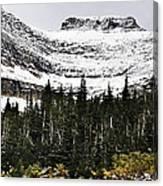 Glacier Park Bowlrock Canvas Print