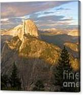 Glacier Point Glow Canvas Print