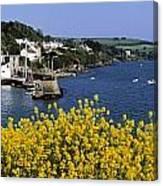 Glandore Village & Harbour, Co Cork Canvas Print