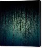 Glares Of Tree Stares Canvas Print