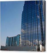 Glass Buildings Nashville Canvas Print