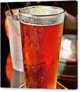 Glass Of Beer Canvas Print