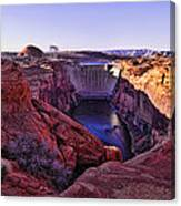 Glen Canyon Dam Canvas Print