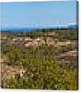 Glen Lake And Lake Michigan Canvas Print