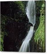 Glenariff Falls, Glens Of Antrim, Co Canvas Print