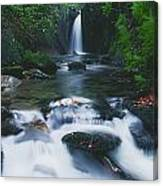 Glencar, Co Sligo, Ireland Waterfall Canvas Print