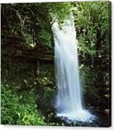 Glencar Waterfall, Yeats Country, Co Canvas Print