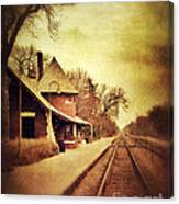 Glencoe Train Station Canvas Print
