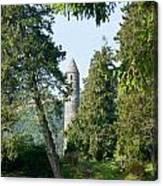Glendalaugh Round Tower 11 Canvas Print