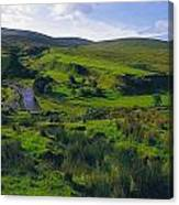 Glenelly Valley, Sperrin Mountains, Co Canvas Print