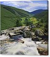 Glenmacnass, County Wicklow, Ireland Canvas Print