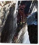 Glenn Alpine Falls Canvas Print