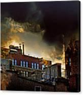 Gloomy City Canvas Print
