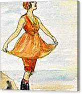 Gloria Swanson Canvas Print