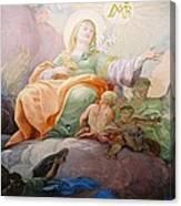 Glorie Der Hl. Anna  Canvas Print