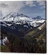 Glorious Mount Rainier Canvas Print