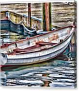 Gloucester Dinghy Canvas Print
