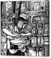 Gloucester Meter Maid Canvas Print