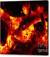 Glowing Ashes Canvas Print