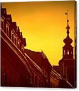 Glowing Balustrades Canvas Print