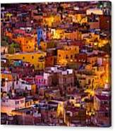 Glowing Colors Canvas Print