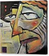 Glum Canvas Print