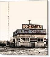 Go-karts - Wildwood New Jersey Canvas Print