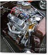 1938 Ford Roadster Go Power Canvas Print