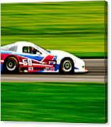 Go Speed Racer Go Canvas Print
