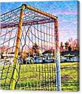 Goal Of Dreams Canvas Print