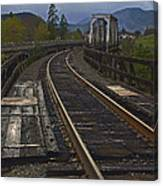 Gold Hill Crossing Canvas Print