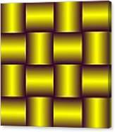 Gold Pattern A   Canvas Print