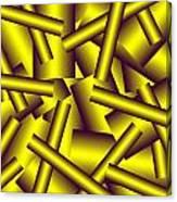 Gold Pattern C   Canvas Print