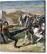Gold Prospectors, C1876 Canvas Print