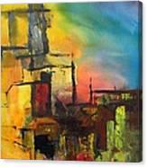 Gold Reef City Canvas Print