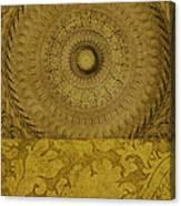 Gold Wheel I Canvas Print